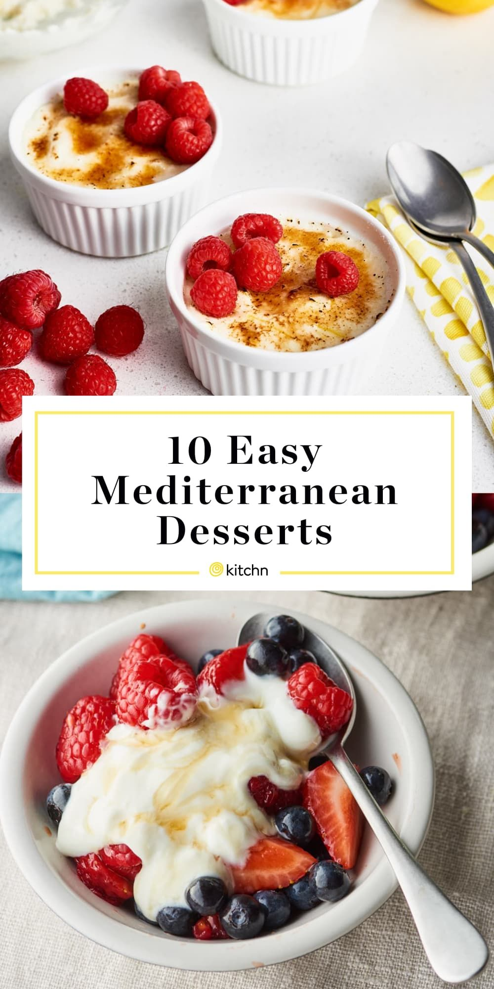 10 Desserts That Will Whisk You Away to the Mediterranean