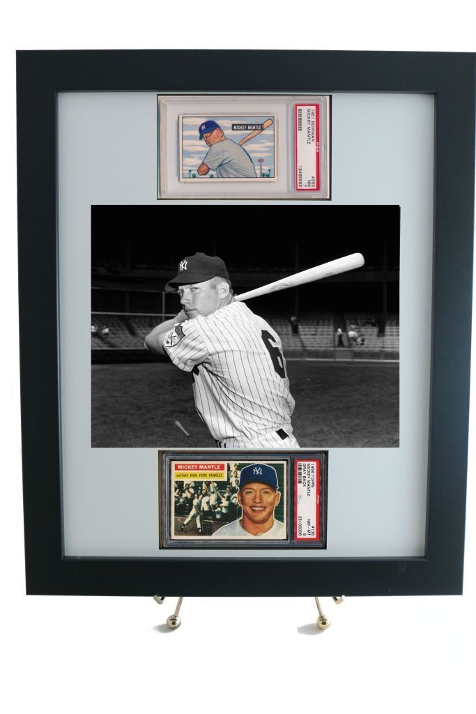 Sports Card Frame For 2 Psa Graded Horizontal Cards 8 X 10
