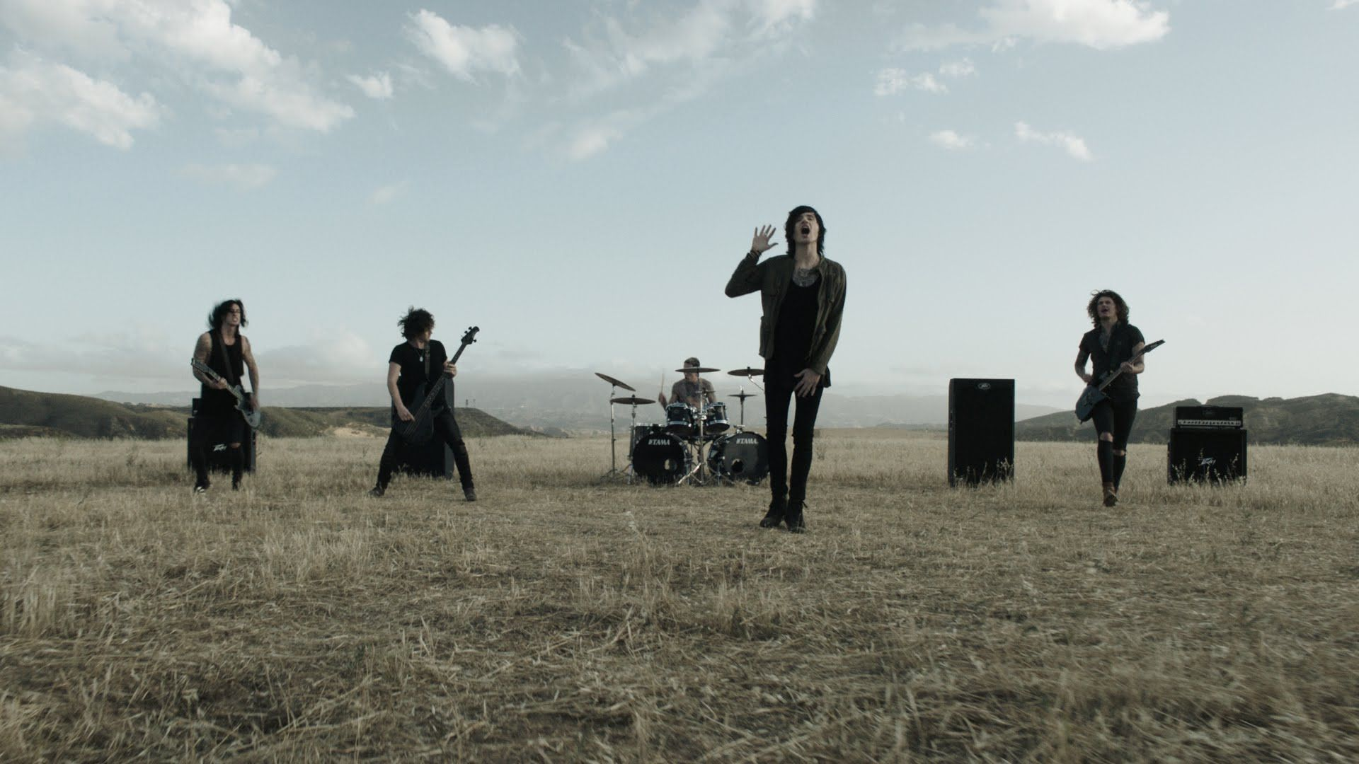 Asking Alexandria Here I Am Official Music Video Asking Alexandria Music Videos Youtube Videos Music