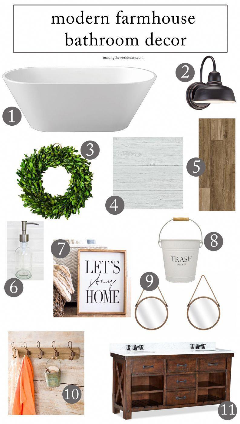 25++ Industrial farmhouse bathroom decor ideas