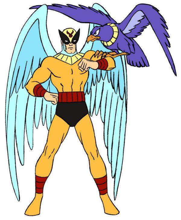 Birdman And Avenger Classic Cartoon Characters Classic Cartoons