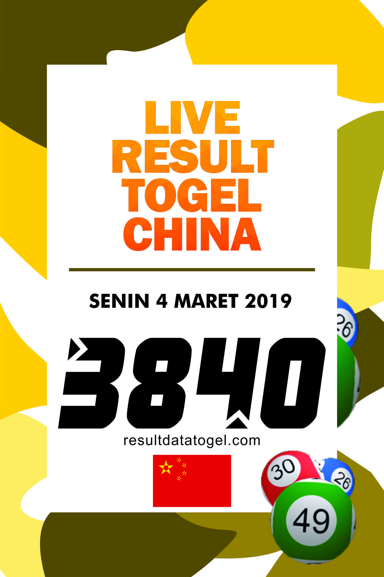Data China Togel 2020 : china, togel, Togel, China