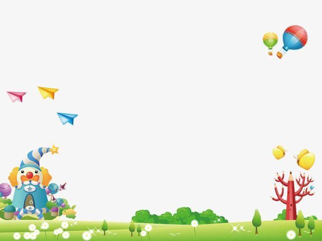 خلفيات كرتون خلفيات كرتون أطفال الجنة ملاهي Png وملف Psd للتحميل مجانا Cartoon Background Banner Design Mood Board