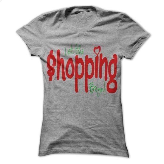 Shoping Begin - #tshirt art #nike sweatshirt. CHECK PRICE => https://www.sunfrog.com/Fitness/Shoping-Begin.html?68278