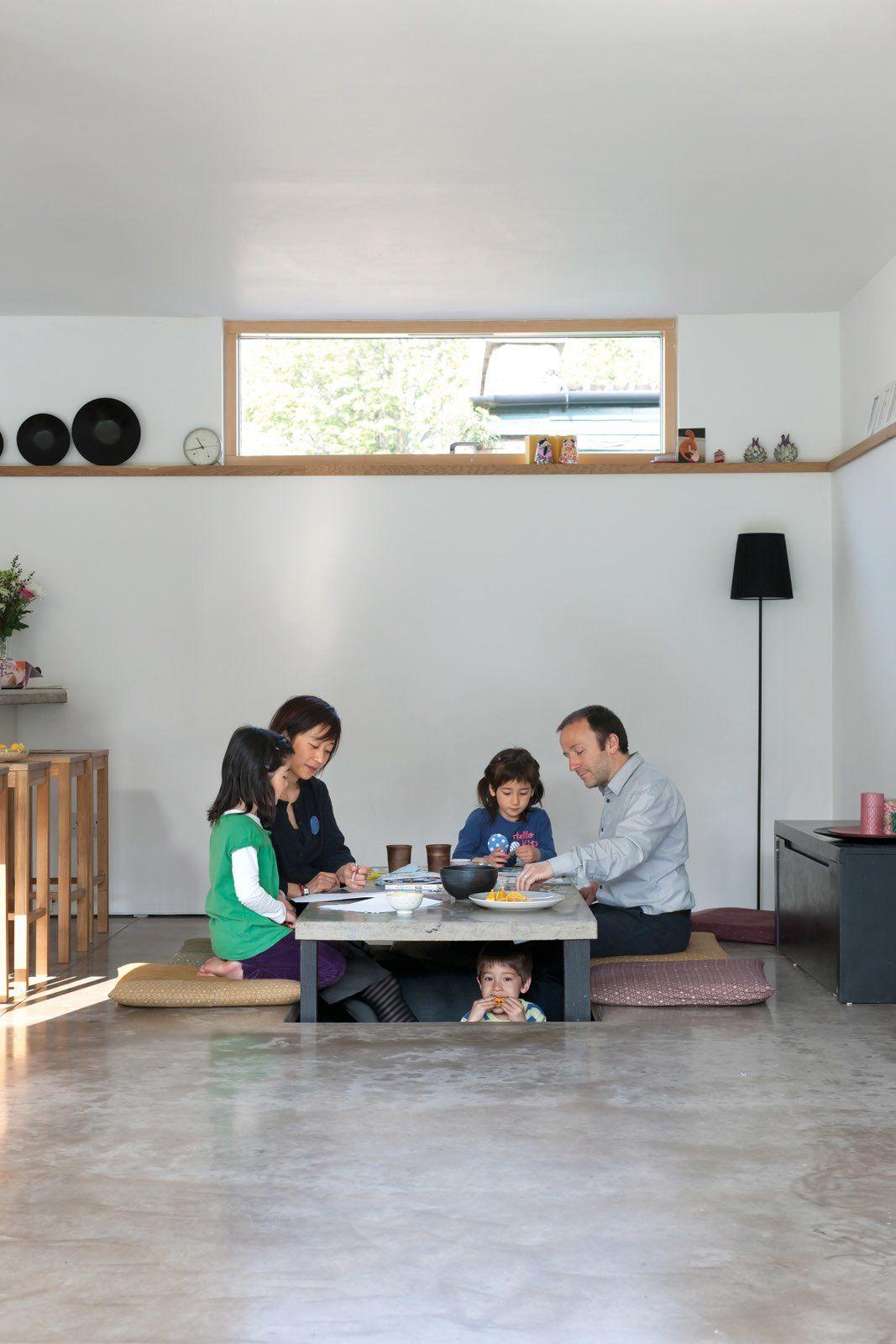 Japanese House By Konishi Gaffney Architects Japanese Dining Table Japanese Interior Japanese Furniture