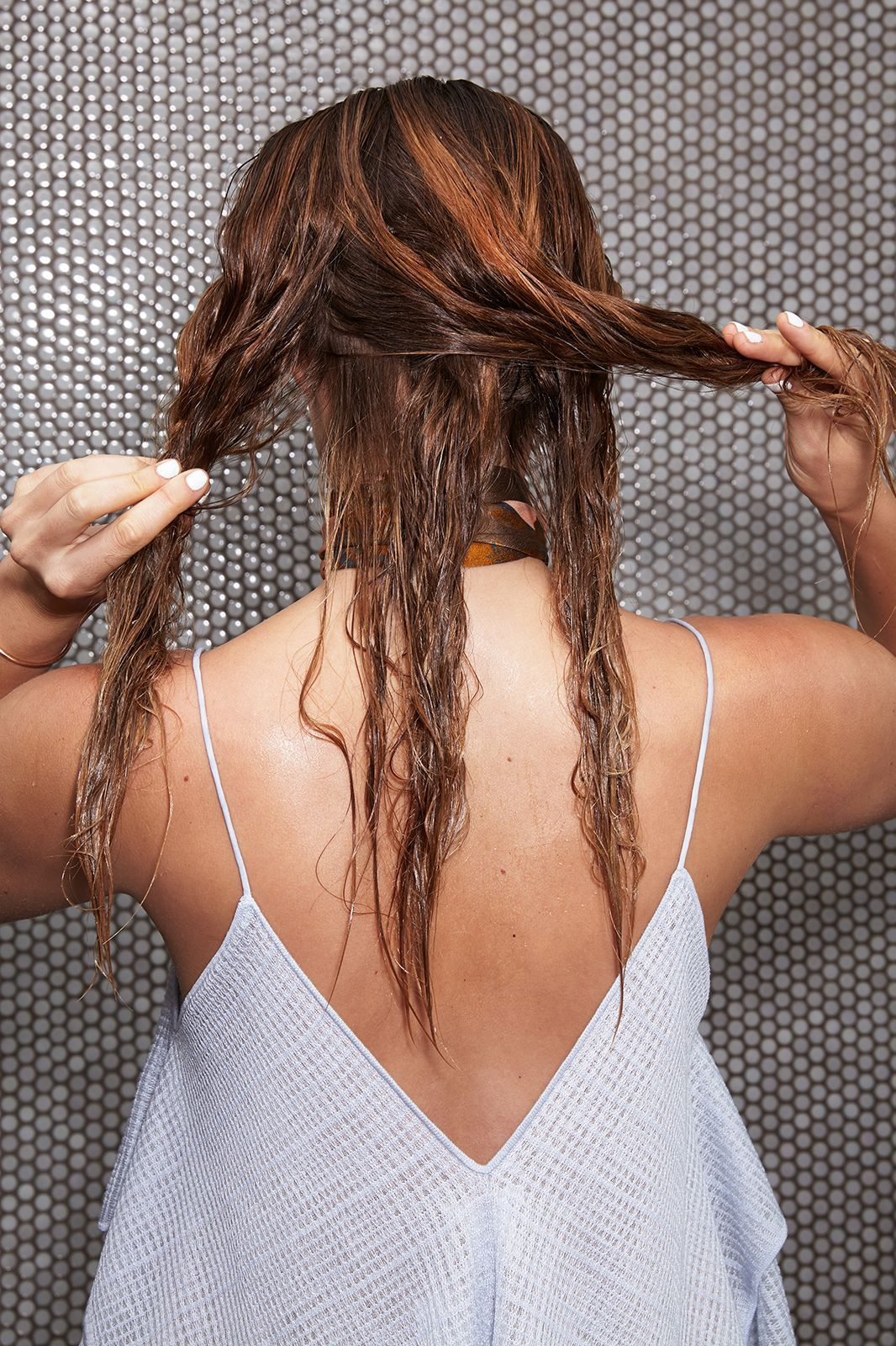 wet hairstyles to get you out the door fast wet hair diys and easy