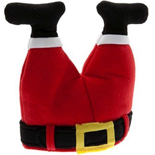 PACK OF 5 CHRISTMAS HATS XMAS NOVELTY FANCY DRESS ACCESSORY FUNNY OFFICE PARTY