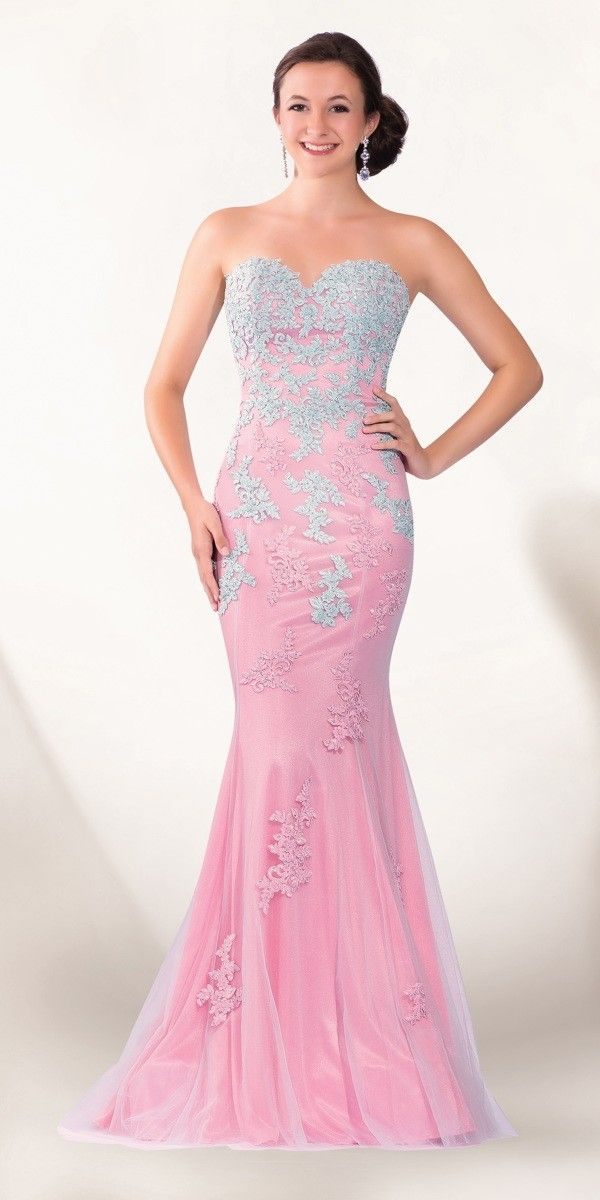 2Cute Pink Lace Prom Dress only $349.99 shegown.com | vestidos ...
