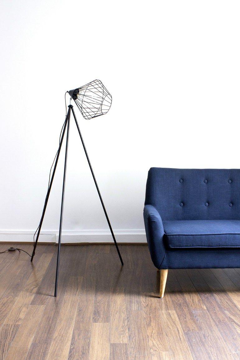 Ampoule laureen luhn design graphique - Direct Light Metal Floor Lamp Floor Lamp Coming B