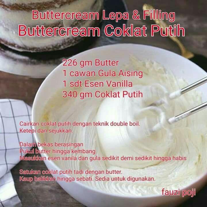 Pin On Buttercream White Choc