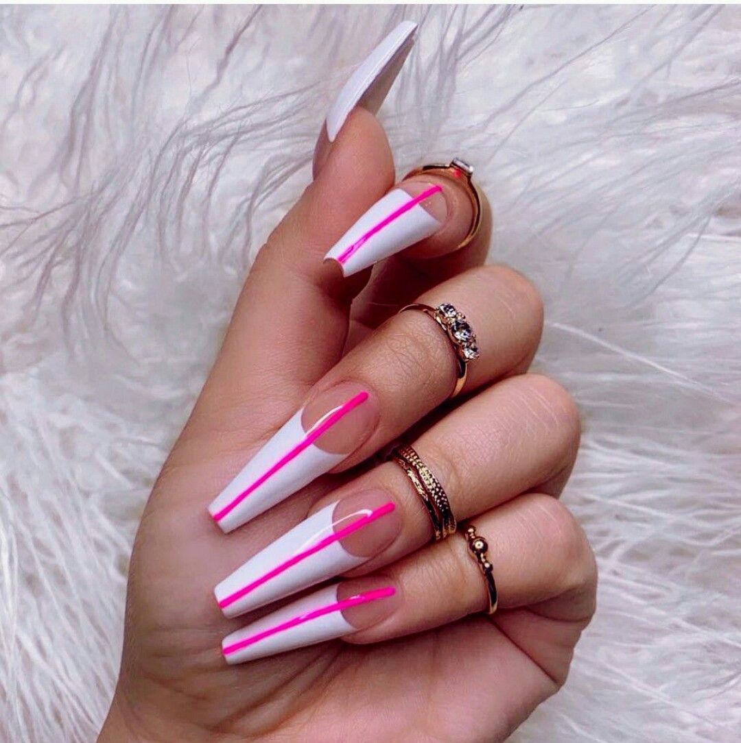 Classy Nail Art | Coffin nails long, Coffin nails designs ...