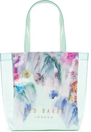 6105430db Ted Baker Sweecon sugar sweet floral small shopper bag on shopstyle ...