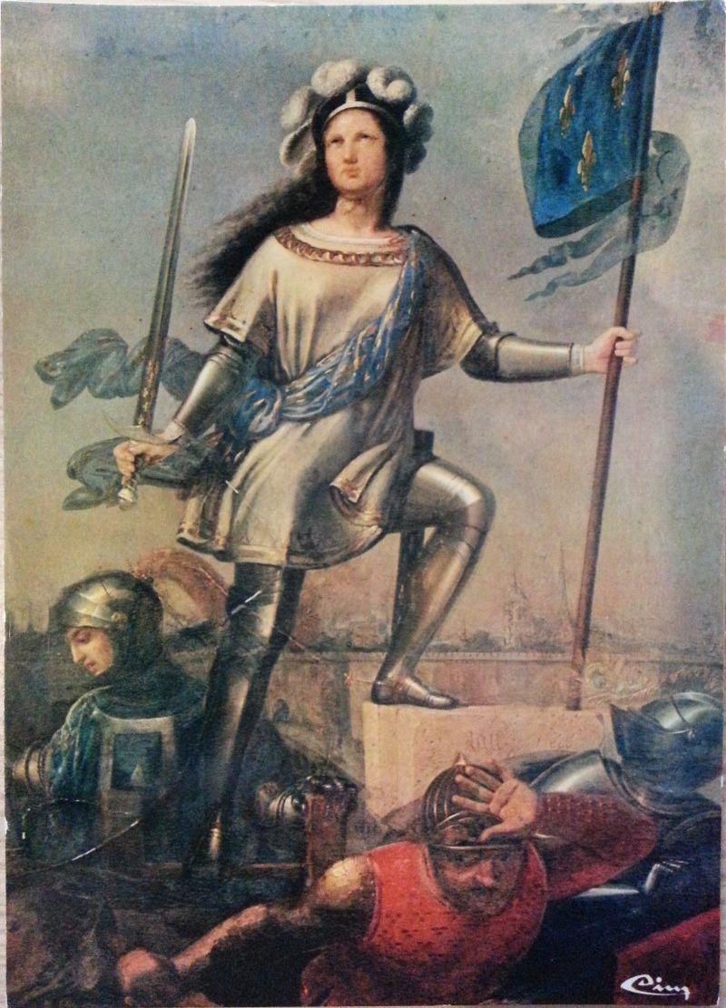 Jeanne d'Arc – by Jean-Louis-César Lair