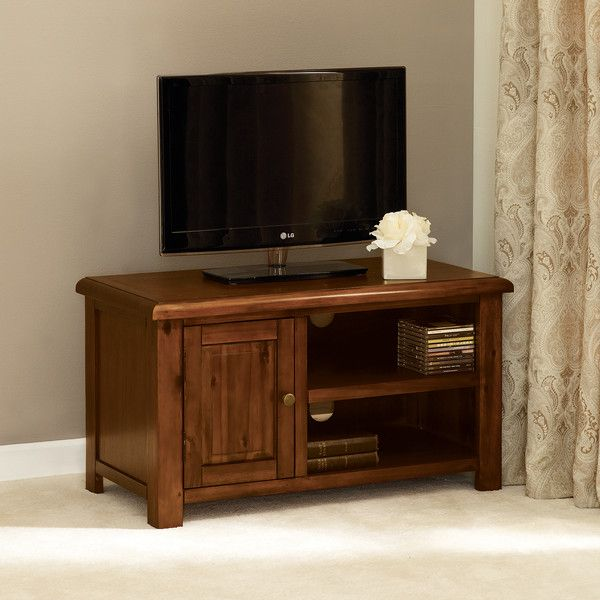 winchester acacia dark wood tv unit dunelm mill lounge. Black Bedroom Furniture Sets. Home Design Ideas