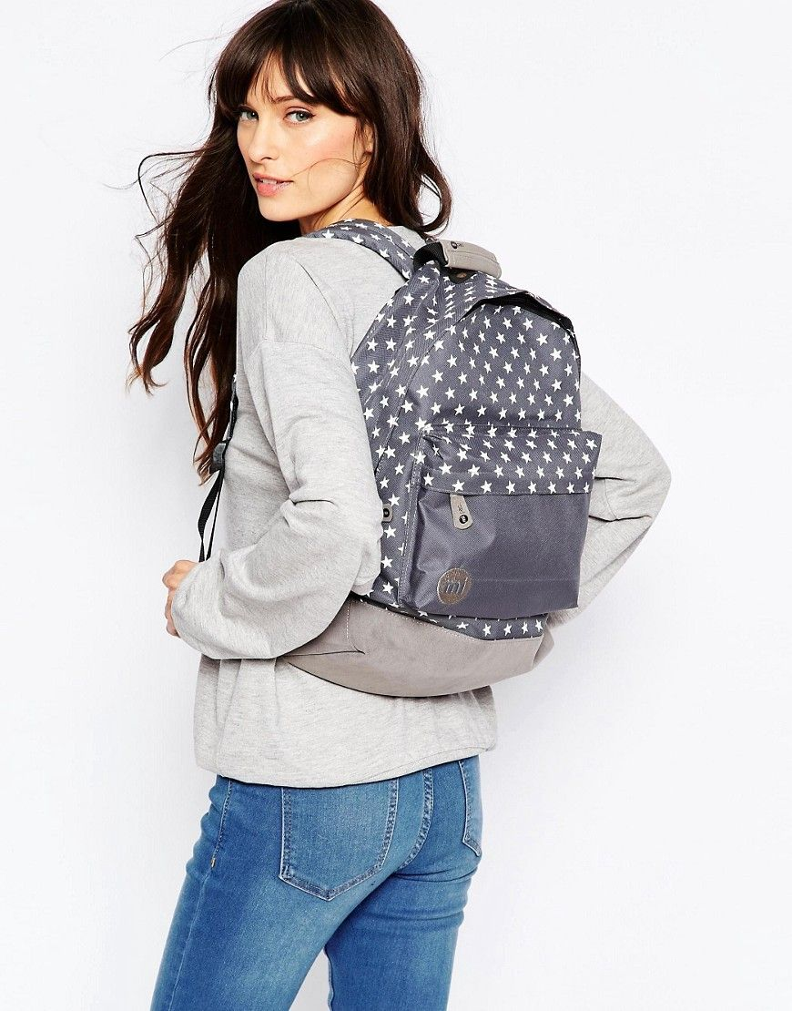 2041427ae7a Mi-Pac All Stars Backpack in Charcoal With Block Pocket | Spring ...