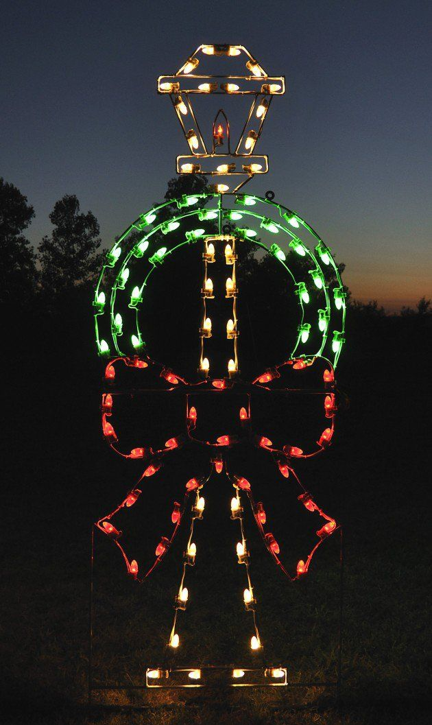 A Large Collection of Outdoor Christmas Light Displays Outdoor