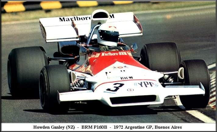 #3 Howden Ganley (NZ) - BRM P160B (BRM V12) 9 (13) Marlboro BRM