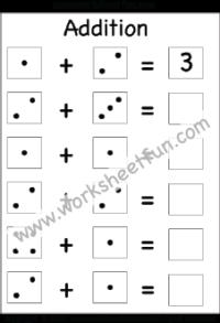 Addition 1 Digit Free Printable Worksheets Worksheetfun Free Printable Math Worksheets Kindergarten Worksheets Printable Worksheets