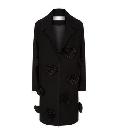 VICTORIA VICTORIA BECKHAM Tailored Appliqué Coat. #victoriavictoriabeckham #cloth #