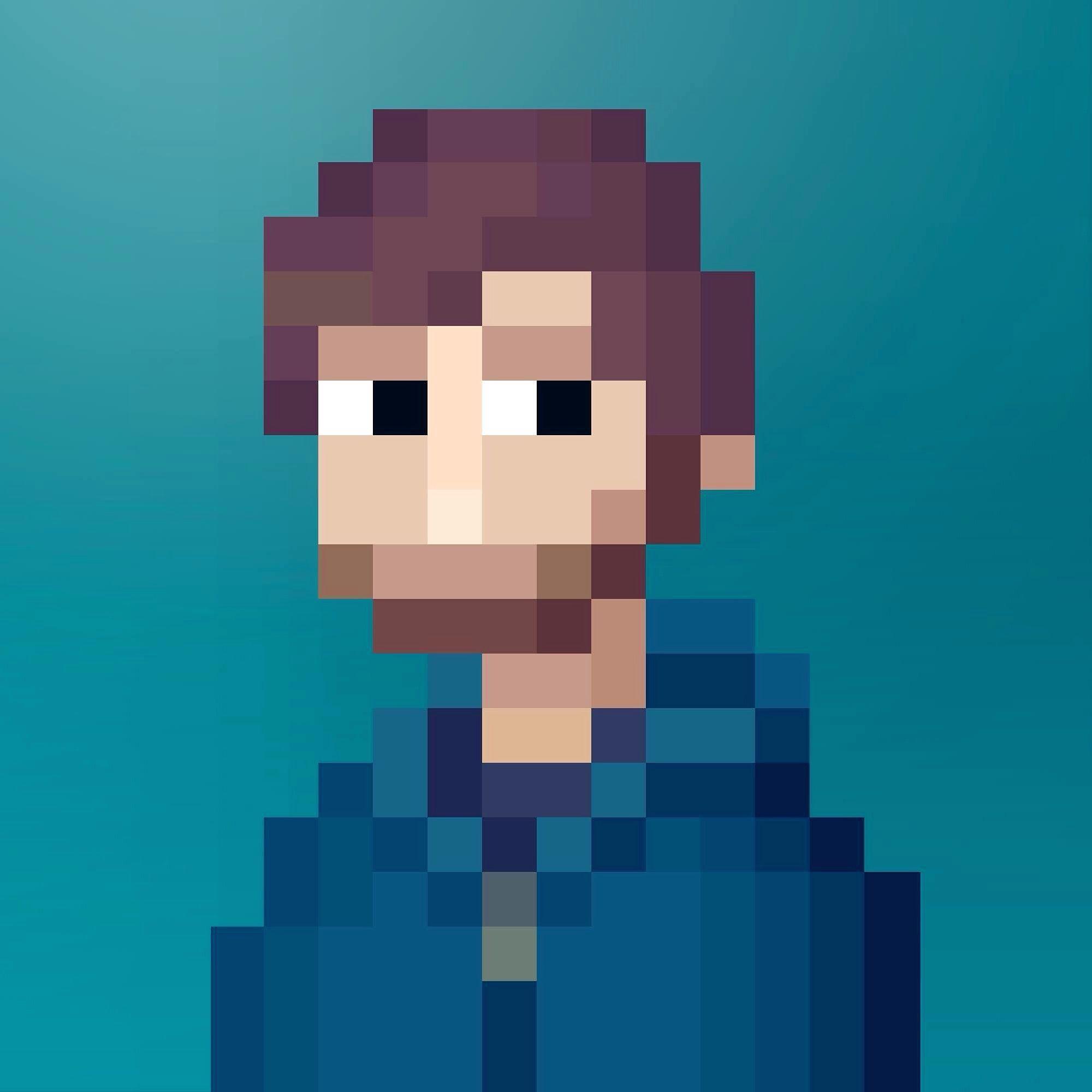 Self Pixel Portrait - have yours made on Fiverr! https://uk.fiverr.com/s2/1748f27d0c