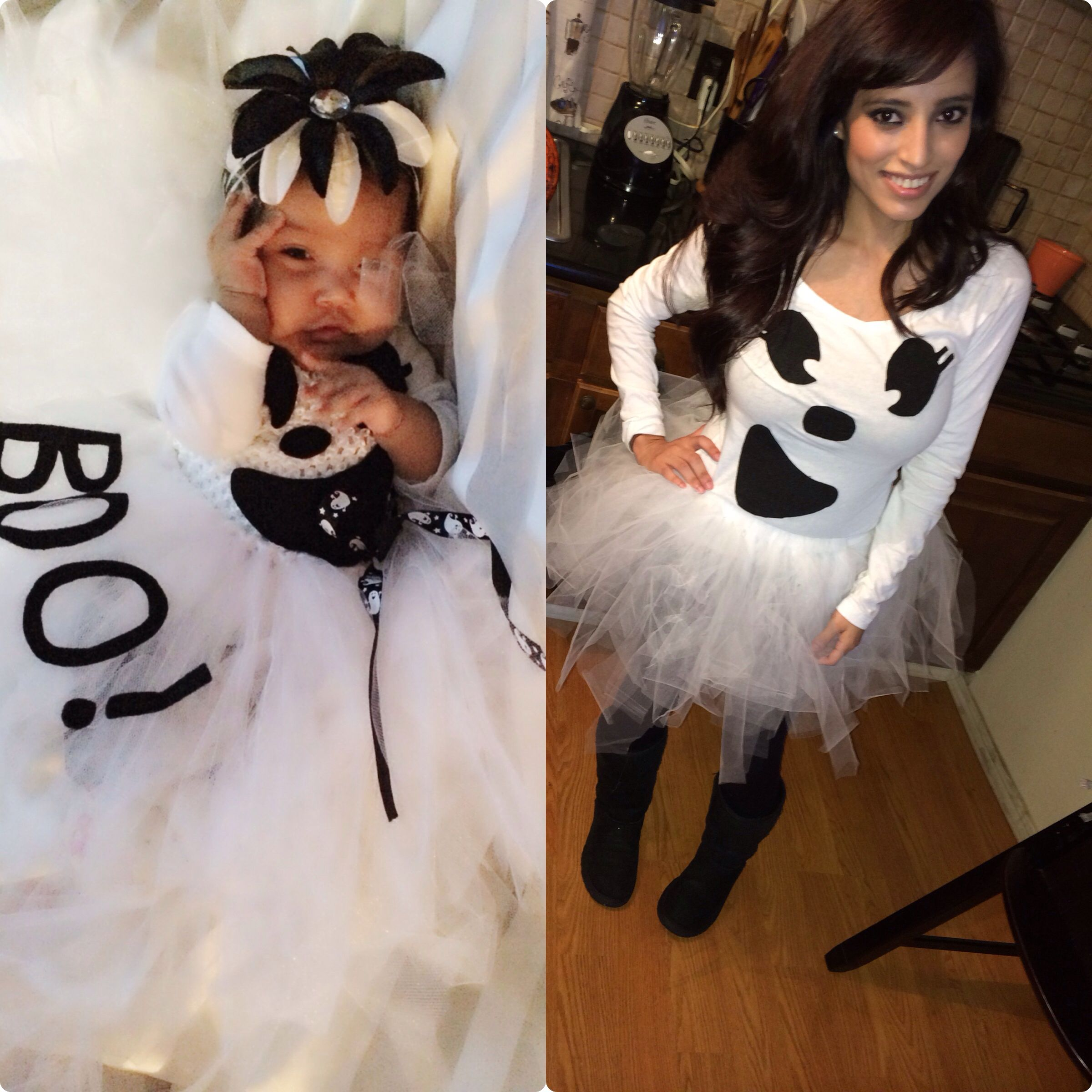 mother daughter matching halloween costumes super easy to make - Matching Girl Halloween Costume Ideas
