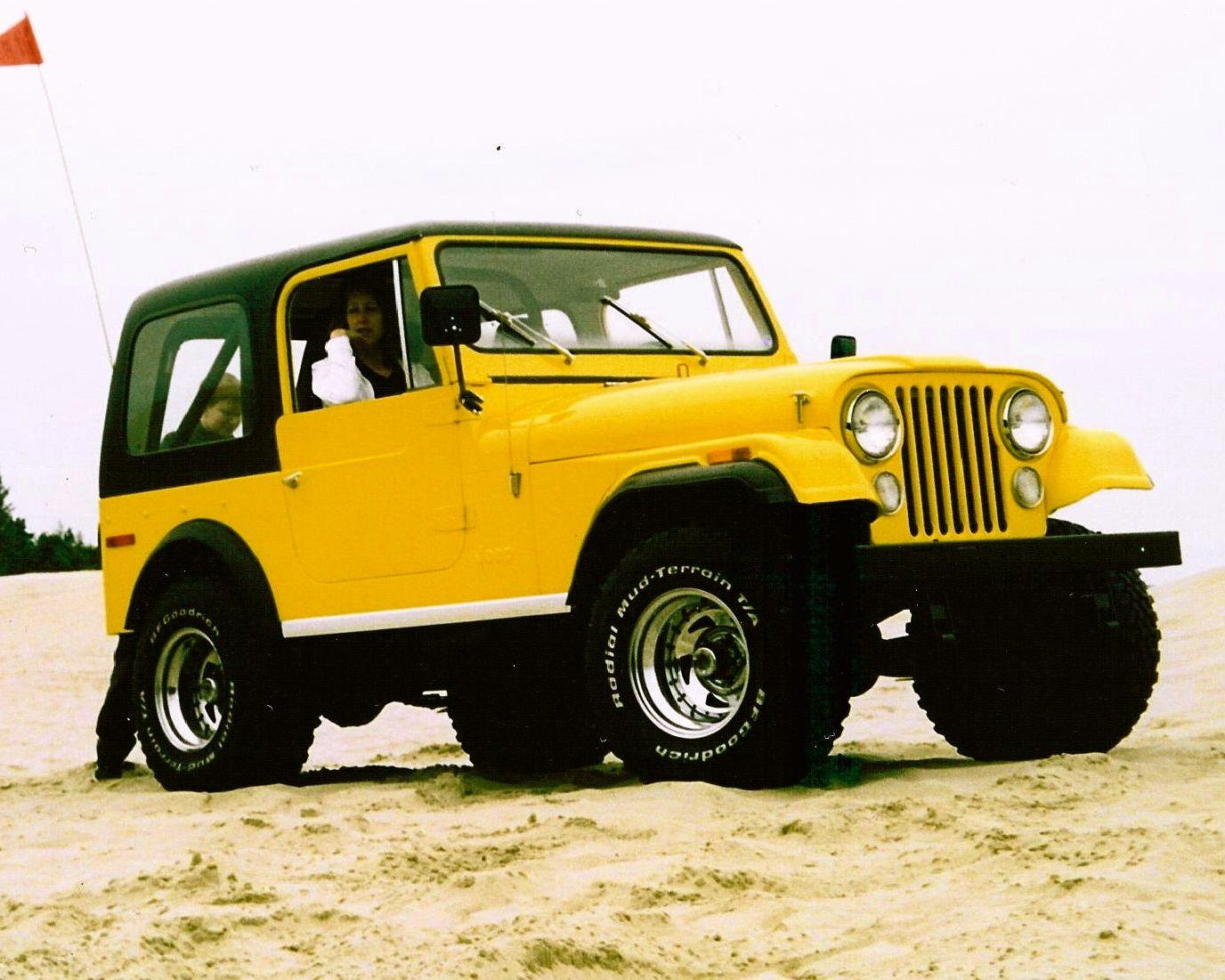 1976 Jeep Cj7 V8 Jeep Cj7 Old Jeep
