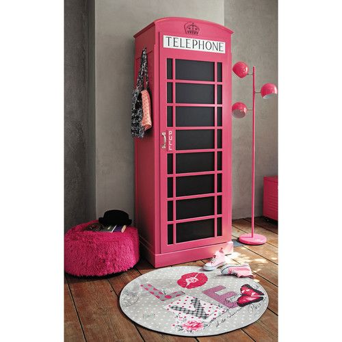 dressing en bois phonebox maisons du monde chambre. Black Bedroom Furniture Sets. Home Design Ideas