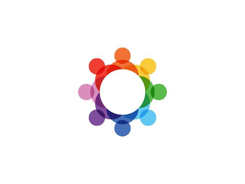 Connecting People Logo People Logo Logo Design Love Human Logo Inspiration