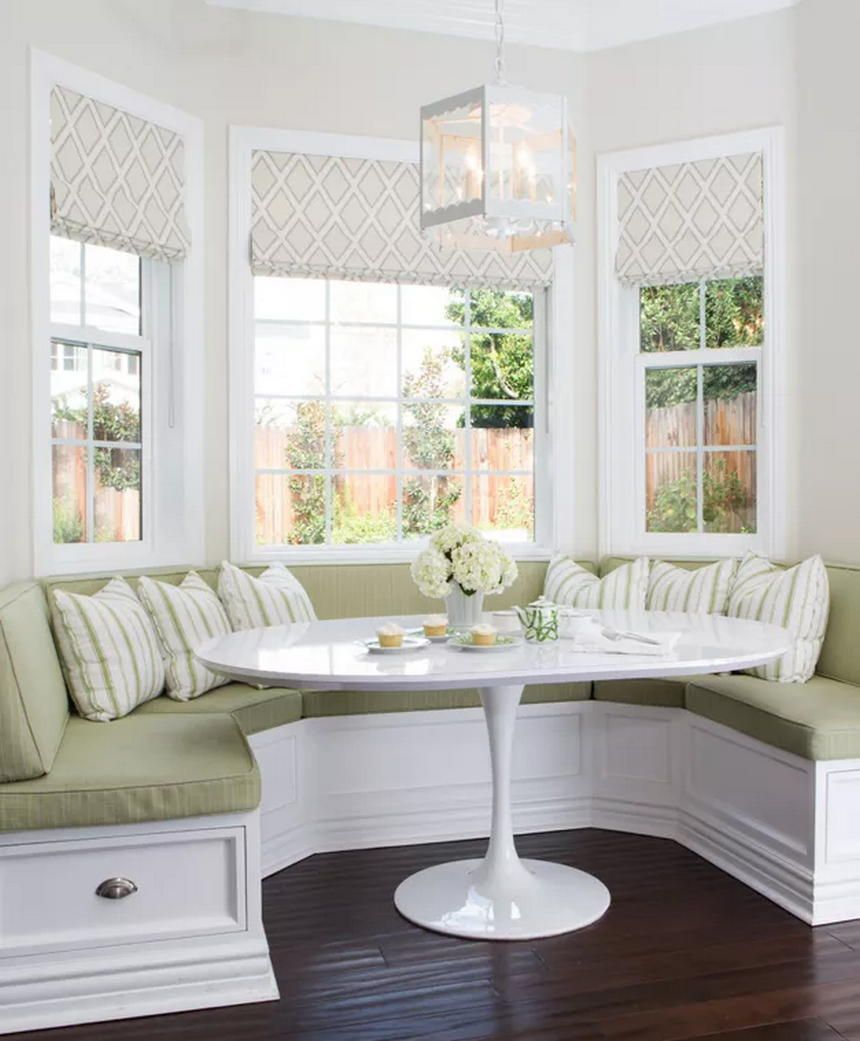 Graceful Dining Room Table And Bench For Sale Only On This Page Banquette Seating In Kitchen Built In Sofa Window Seat Kitchen