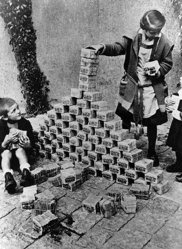 Image result for germany in hyper inflation time images