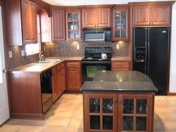 Images of raised ranch kitchen remodel exotic wood for Raised ranch kitchen designs