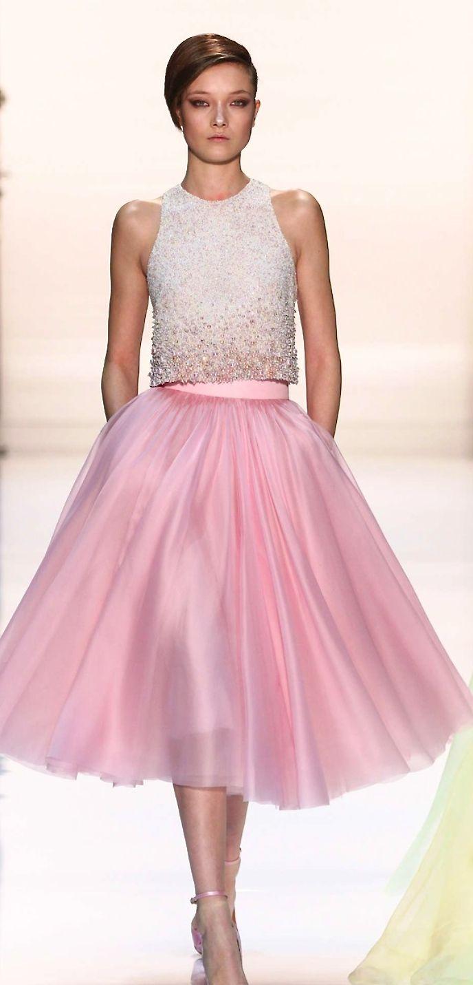 Georges Hobeika. | Pretty in Pink | Pinterest | Algo romantico ...