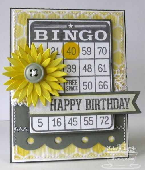 Bingo Birthday By Mrupple Cards And Paper Crafts At