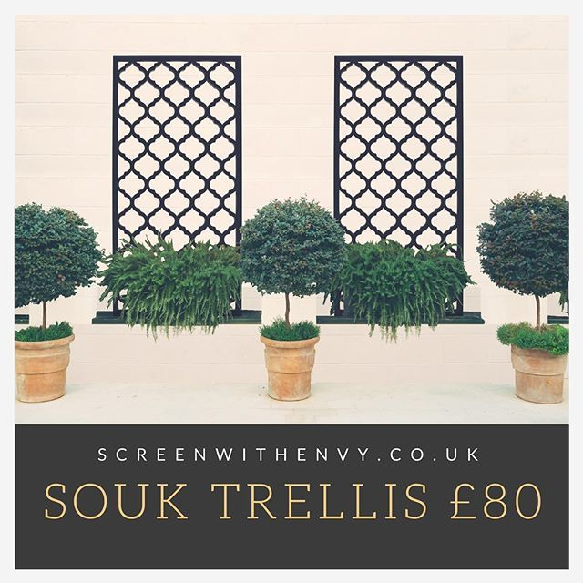 Garden privacy screens and trellises, made from advanced ...