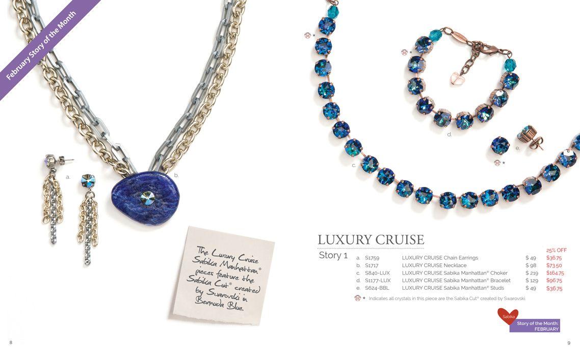 Sabika look necklace - Sabika Summer 2017 Collection Story 1 Luxury Cruise The Luxury Cruise Necklace Has Sold