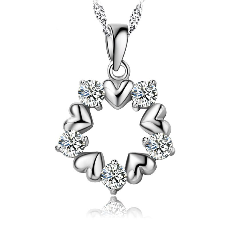 Diamond pendant pendant necklace sterling pendant mother child diamond pendant pendant necklace sterling pendant mother child pendant pendants aloadofball Image collections