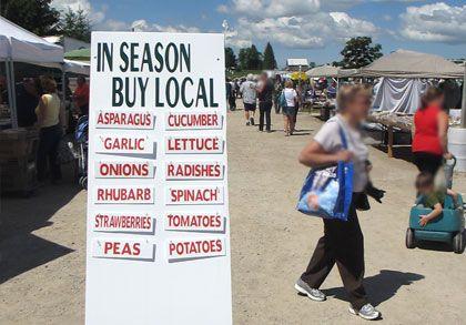 Ontario farmers market, Keady Farmers Market, Keady, Ontario
