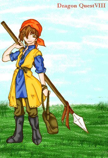 Dragon Quest VIII Hero by DQ8-Club on deviantART | Dragon
