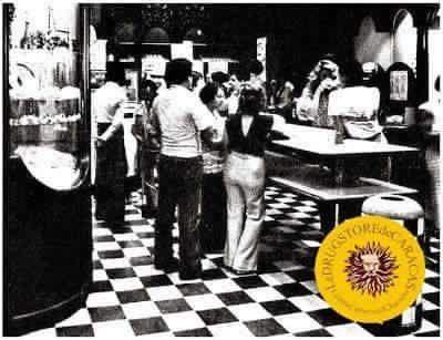 El Drugstore en el Centro Comercial Chacaito Caracas años 70's