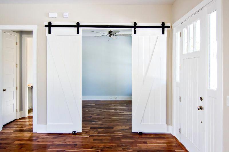 Interior pocket doors solid doors internal sliding