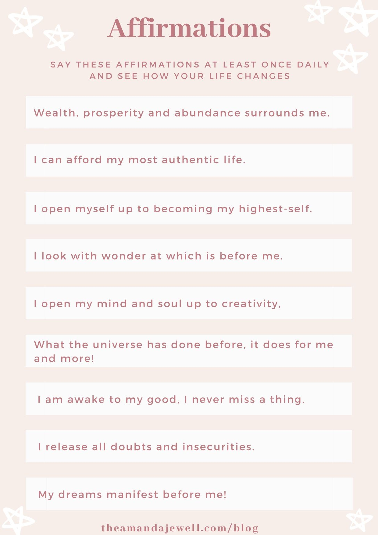 What Are Affirmations And How To Use Them Amanda Jewell What Is Affirmation What Is Manifestation Affirmations
