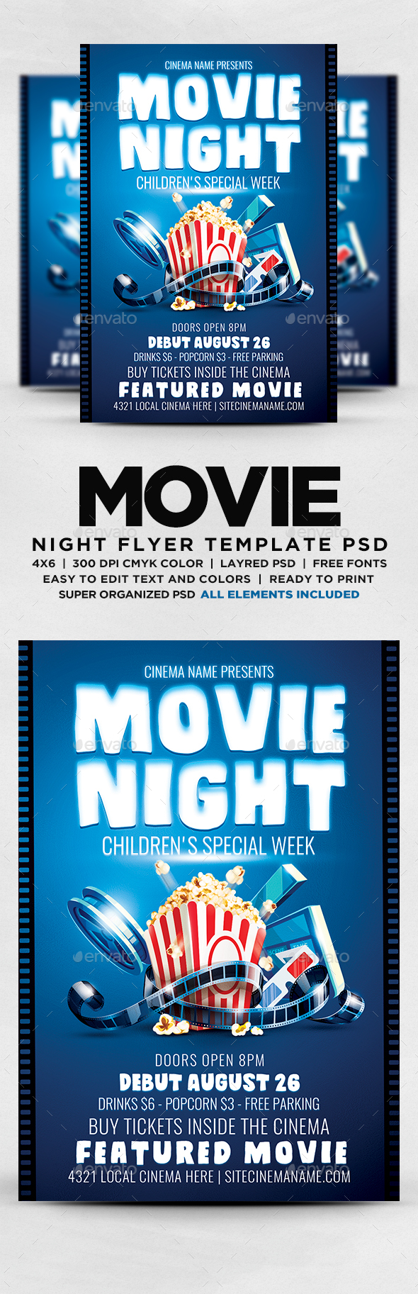 Night Childrens Special Week Flyer