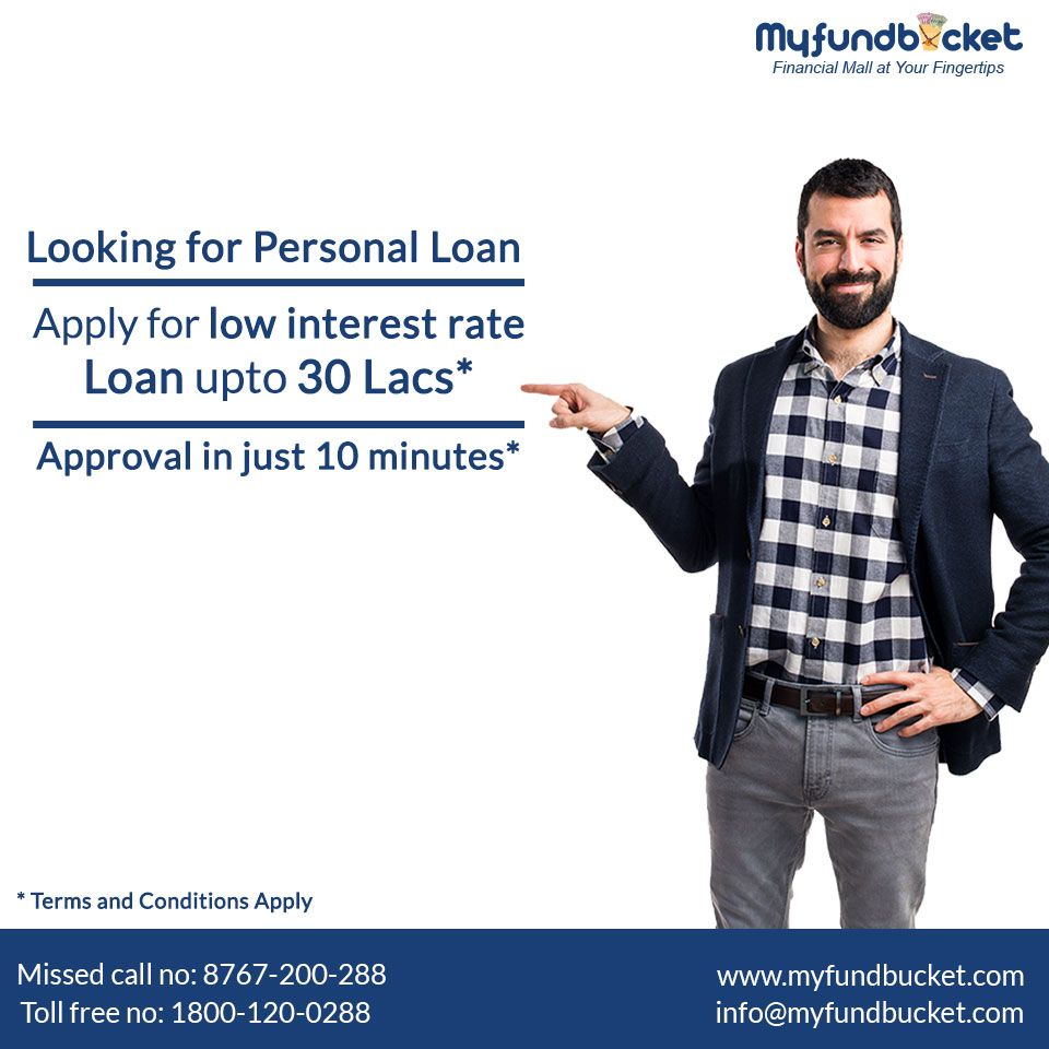 Get approval in 10 minutes* for your personal loan