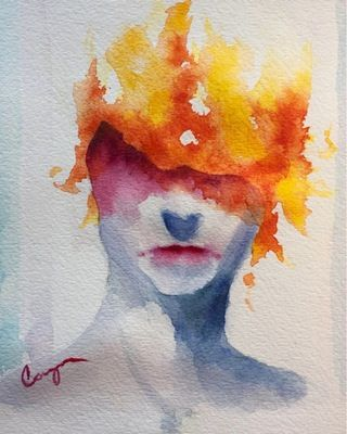 Brazier Watercolor Https Www Reddit Com R Art Comments 4sq7if