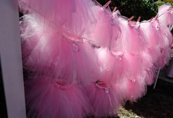 Tutu Party Pack (Set of 10) Any Color, Tutu Party, Ballerina Party, Tutus, Party Favors, Ballerina,