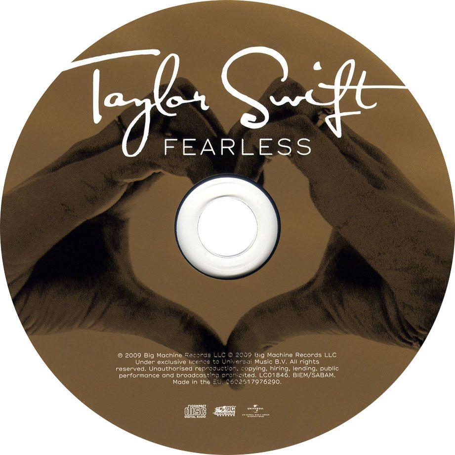 Caratula Cd de Taylor Swift - Fearless (16 Canciones)