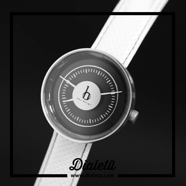 The Drive Mark-01 Cool by BHO design is numbered and limited to 500 pieces worldwide, a must for collectors. This watch has a white genuine leather strap.