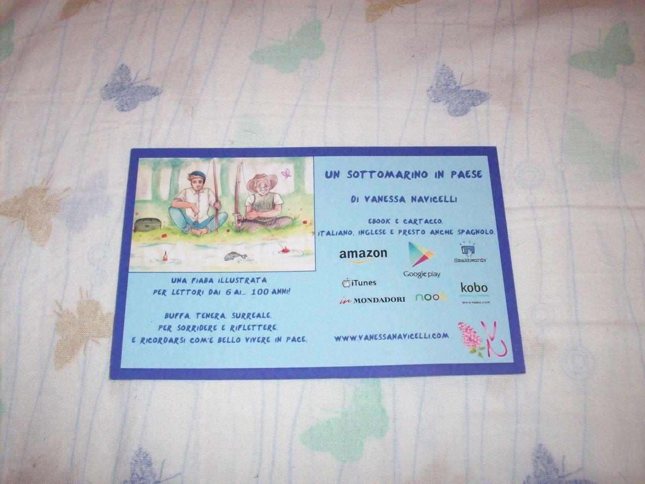 Retro cartolina de #UnSottomarinoInPaese