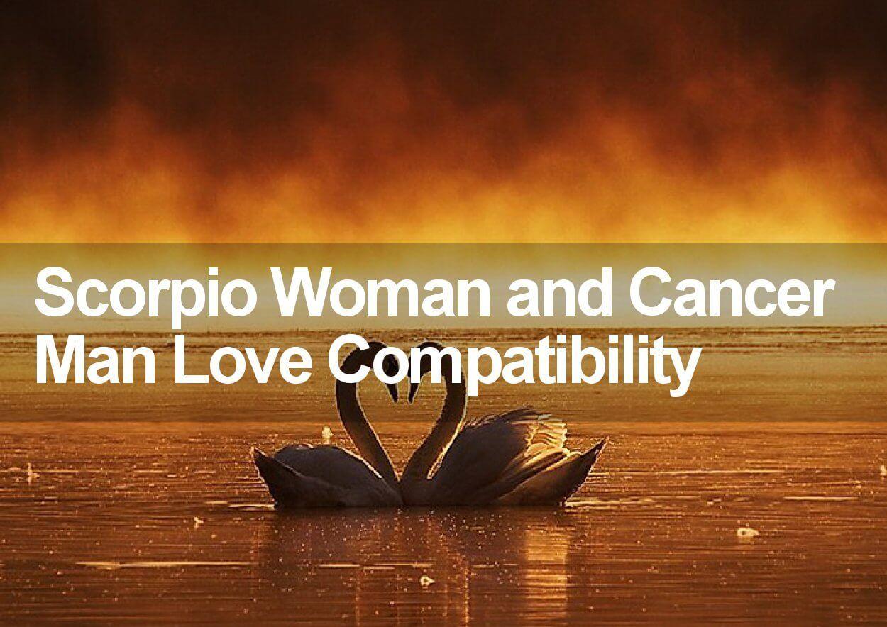 Scorpio Woman and Cancer Love Compatibility