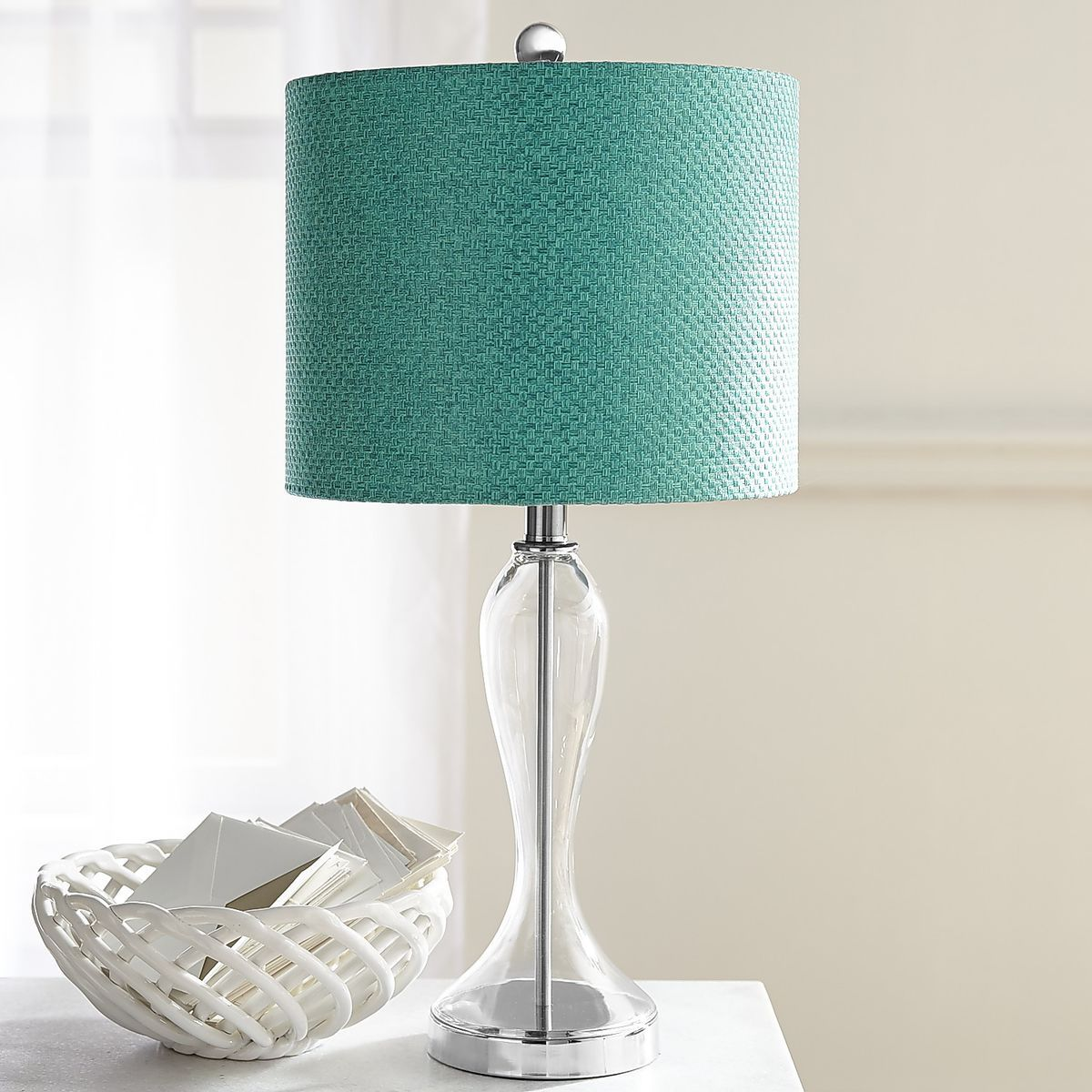 Marine Glass Table Lamp | Pier 1 Imports